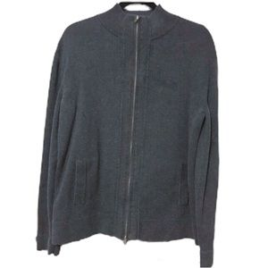Men's Express Mock Neck Zipper Sweater